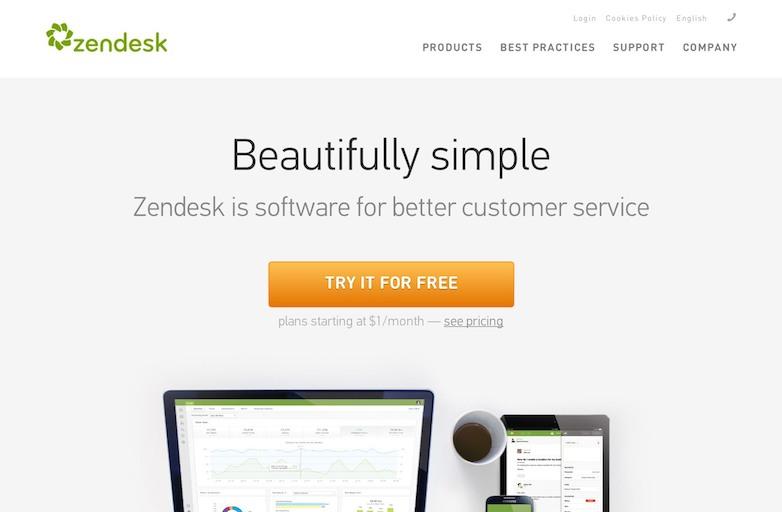 zendesk no-unique selling proposition