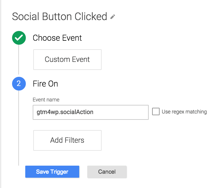 social event tag manager