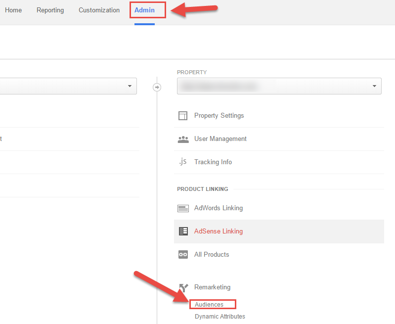Navigate To Audience Builder In Google Analytics