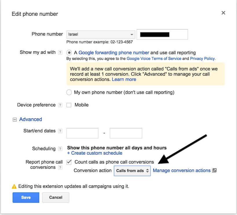 7 google adwords forwarding number (1)