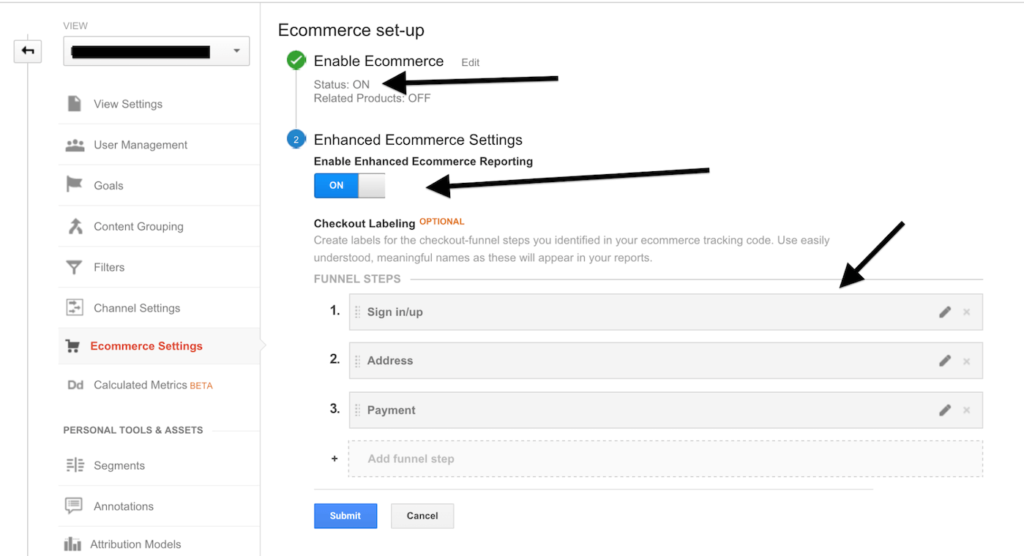 google analytics enhanced ecommerce 38