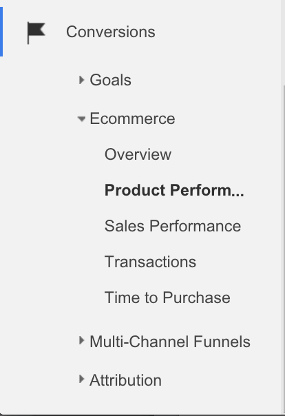 google analytics enhanced ecommerce 4