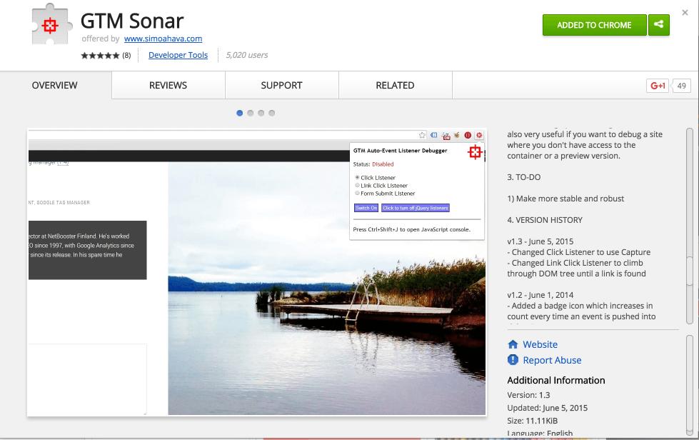GTM Sonar - Chrome Web Store 2016-03-28 10-16-34