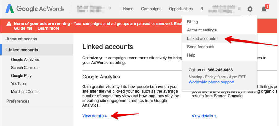 Account Settings – Google AdWords 2016-05-06 15-01-10