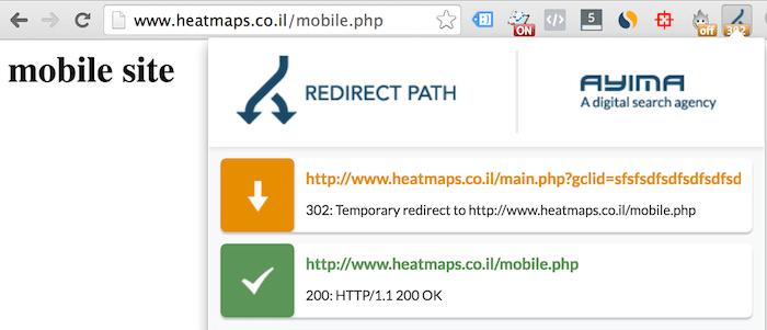 redirect gclid adwords