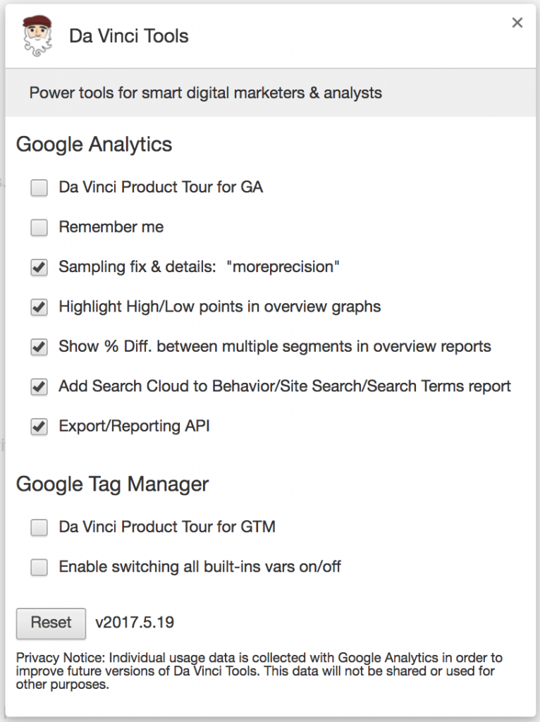 da vinci google analytics1