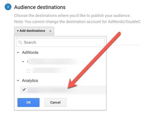 audience destination analytics
