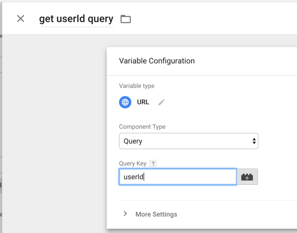 user id query