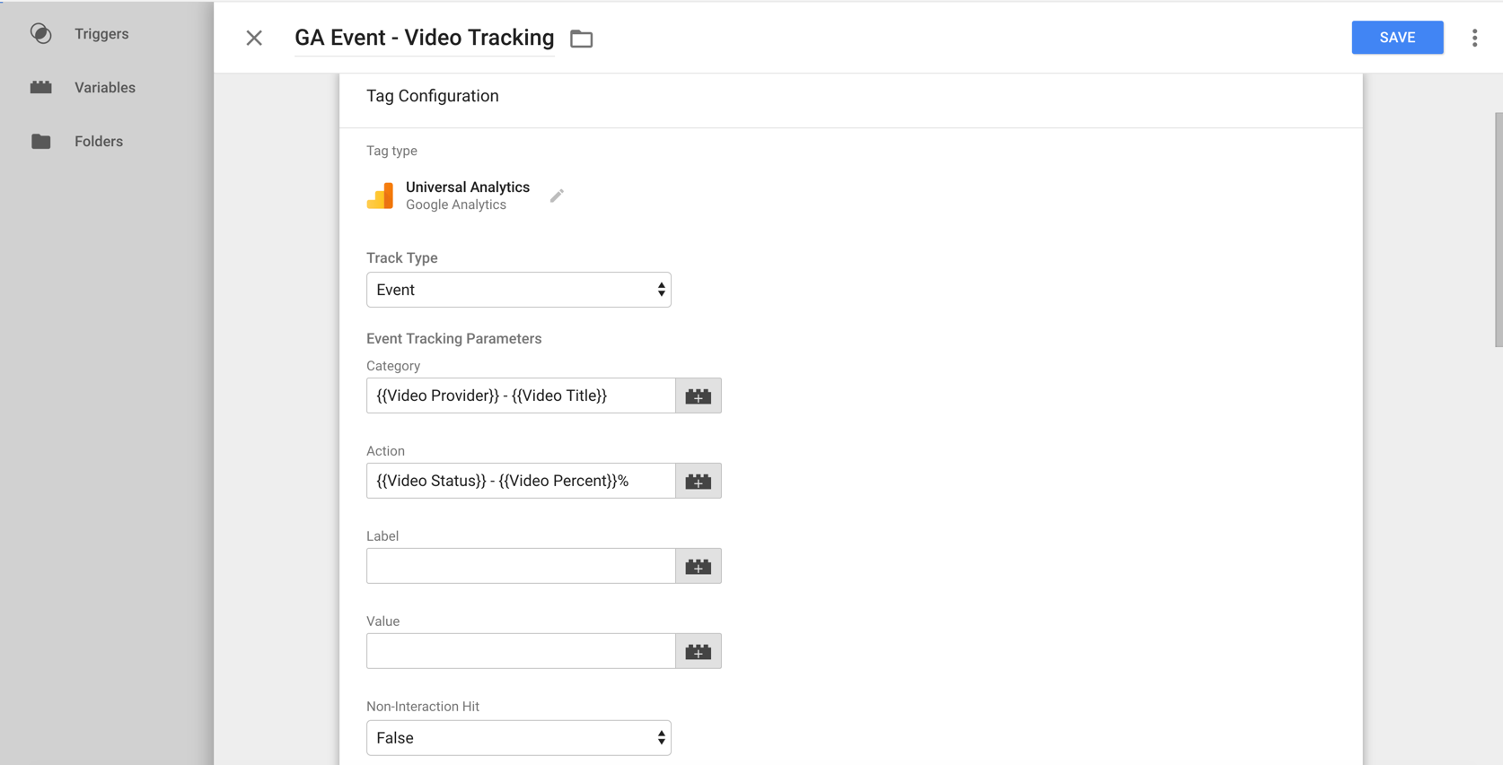 youtube tracking google analytics